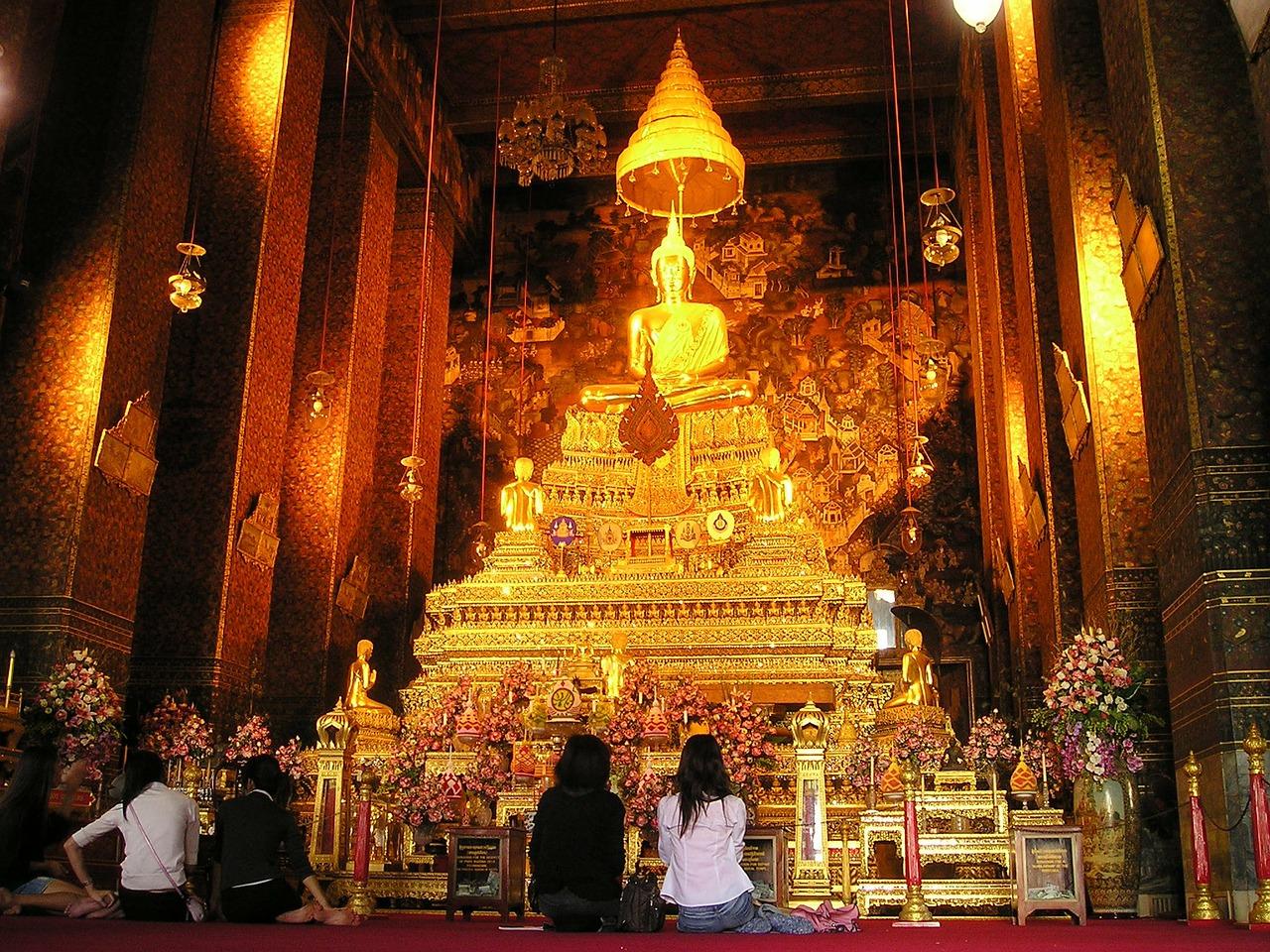 temple en Thaîlande