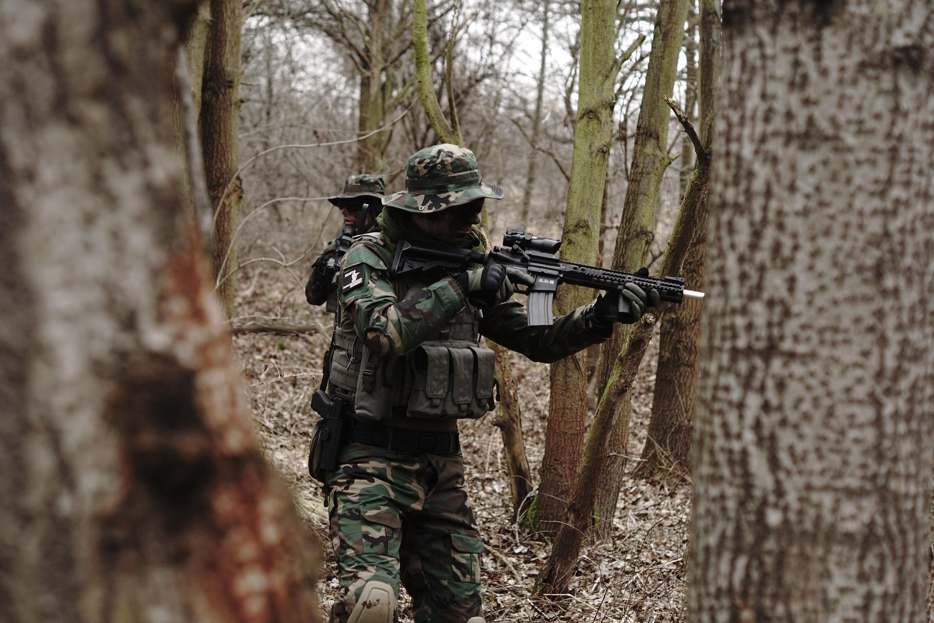 fusil d'assaut airsoft
