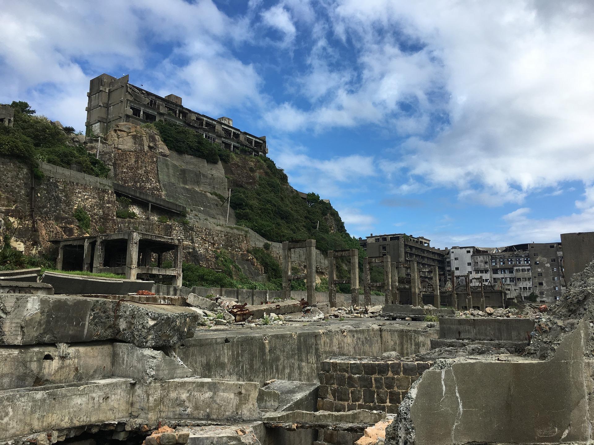 Hashima, l'île fantôme