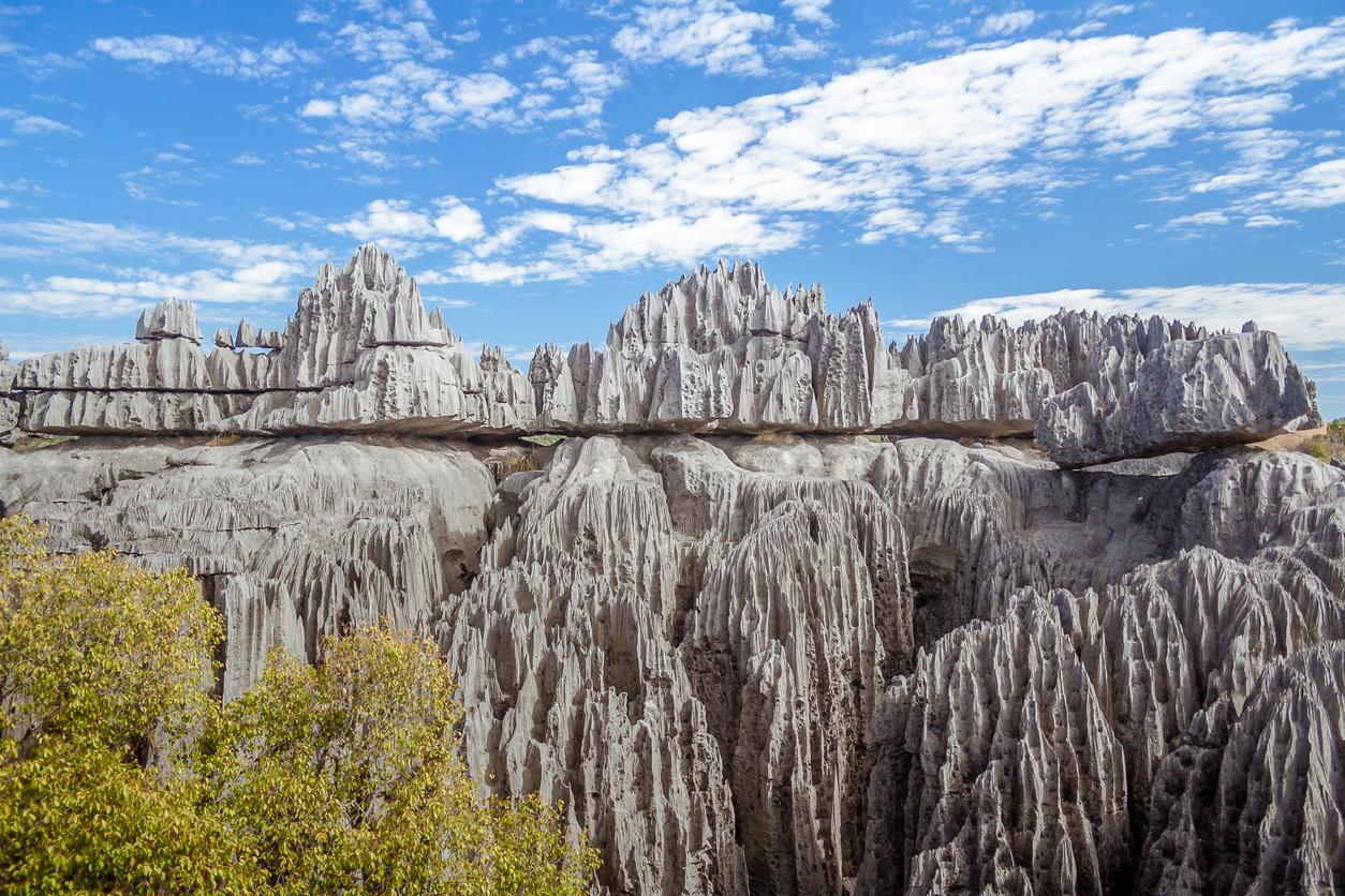 Tsingy de Bemaraha de Madagascar